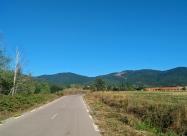 Межди селата Спахиево и Сираково. Поглед назад към връх Аида
