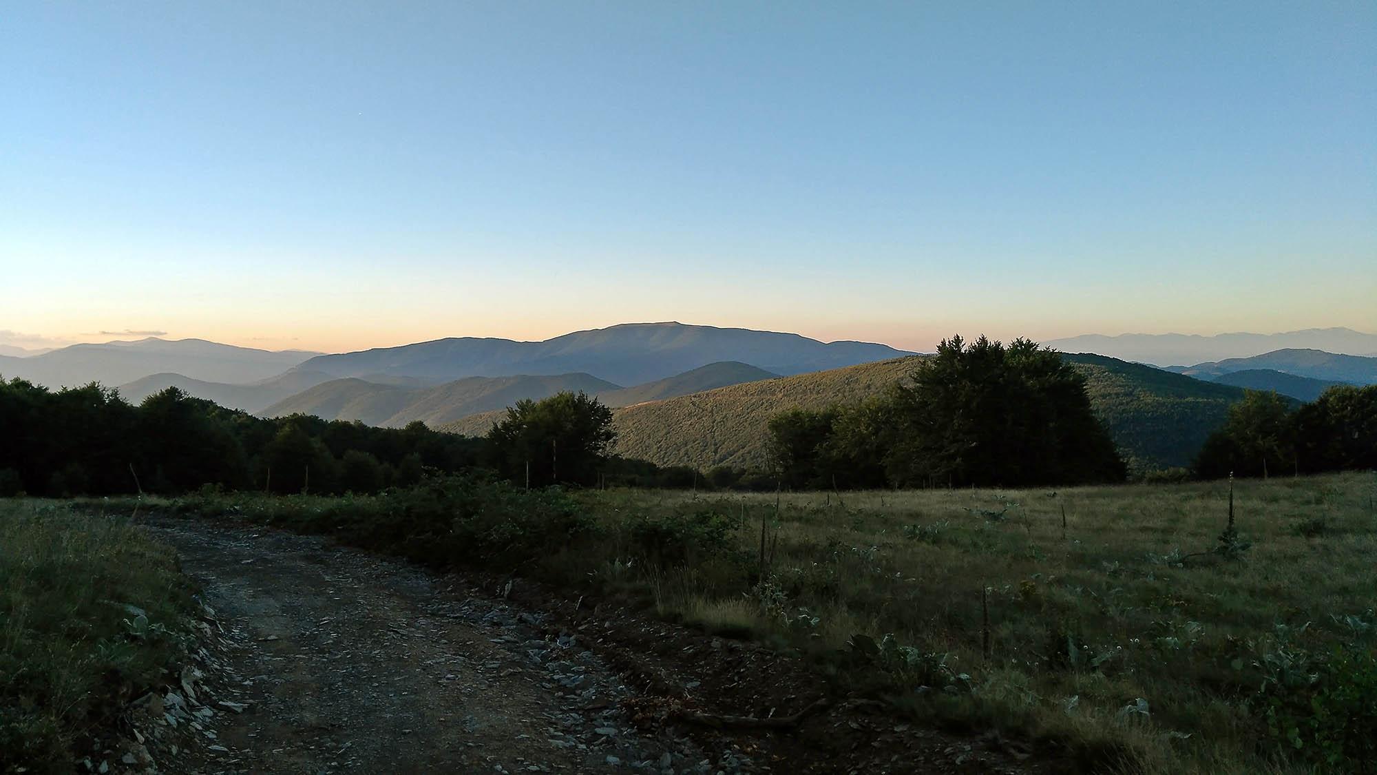 към връх Мургаш