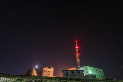 Лунна нощ на връх Ботев